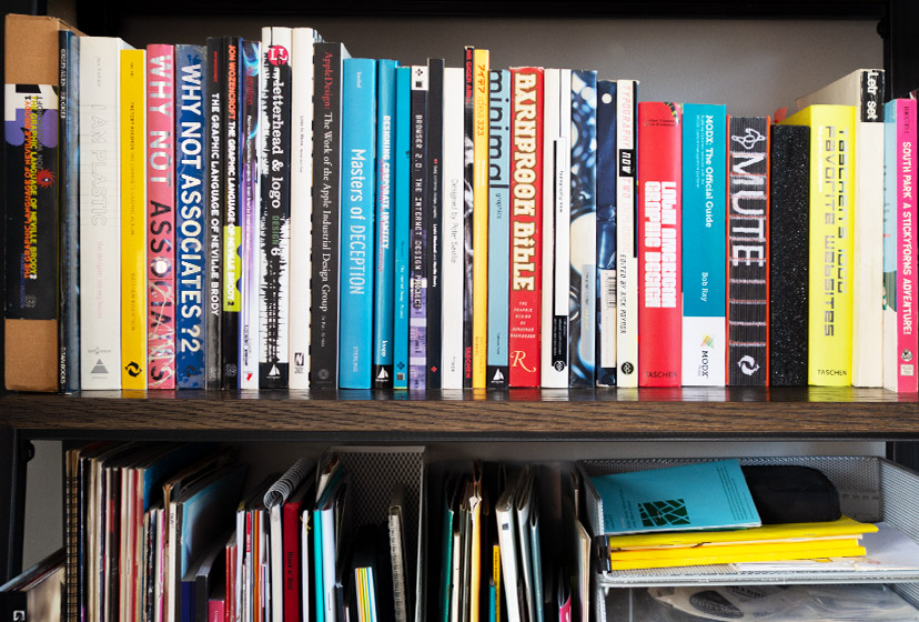 Our design studio - book collection